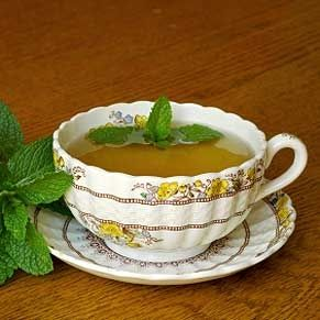 Peppermint tea is delicious! If you need a pick-me-up I would recommend this!