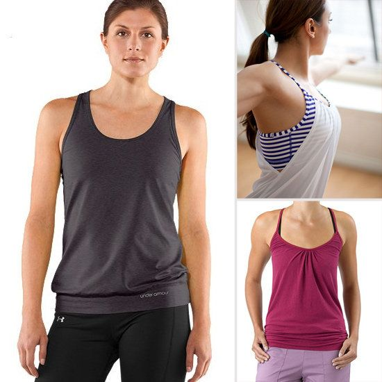 Flattering Fitness Tops That Hide a Belly  4404436a78