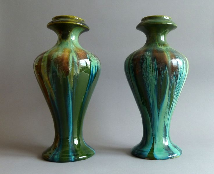 Art Nouveau Pair of Vases https://www.etsy.com/your/shops/DALESARTS/tools/listings/view:table,stats:true/291661381