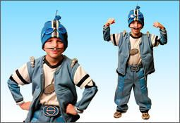 Nathan's halloween costume...Welcome to Lazytown: How to Make a Sportacus Costume