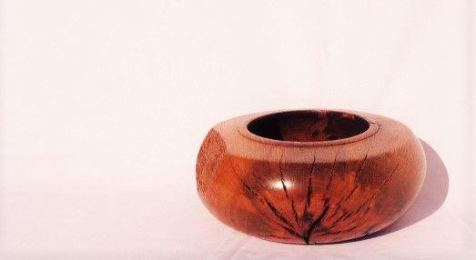 Pote em madeira de Sobreiro