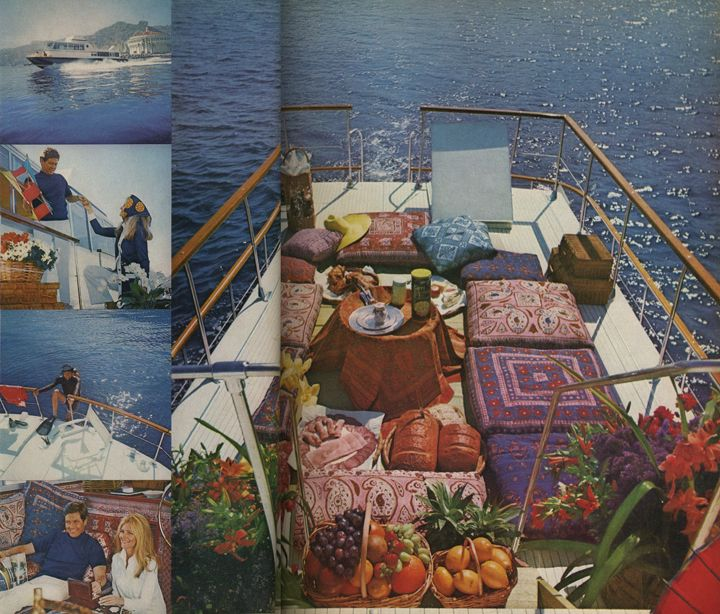 houseboating with tunneys 1972: Interiors Exterior Decor, Tunney 1972, Pimped Houseboats, Tiny Houses, Boats Pillows, Furniture Design