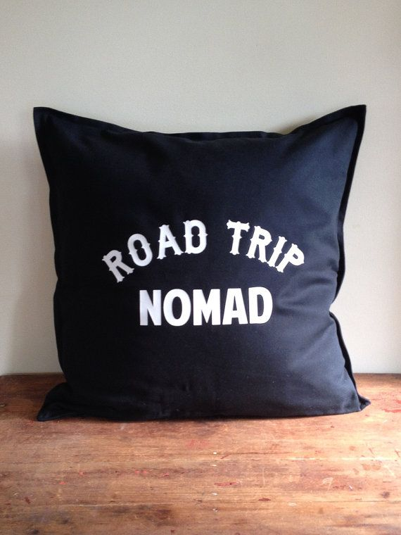Road Trip Nomad Black Cotton Vintage Style by DarkHorseWanderer, $48.00