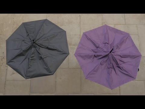 KAZbrella – Next Gen Umbrella Is Sensible And Drip-Free [Video] - Finally! – KAZbrella opens up instead, which makes it perfect for entering a car or when you open the door to your home. It's drip-free as well!