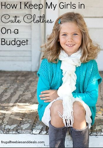 How I Keep My Girls in Cute Clothes- On a Budget