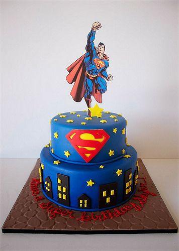 Tortas de Superman: Fotos e Imágenes de Modelos de Tortas Decoradas