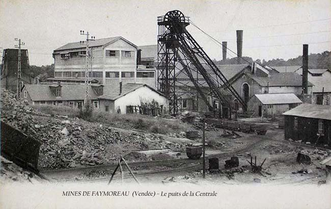 FAYMOREAU Puits de la Centrale 1910