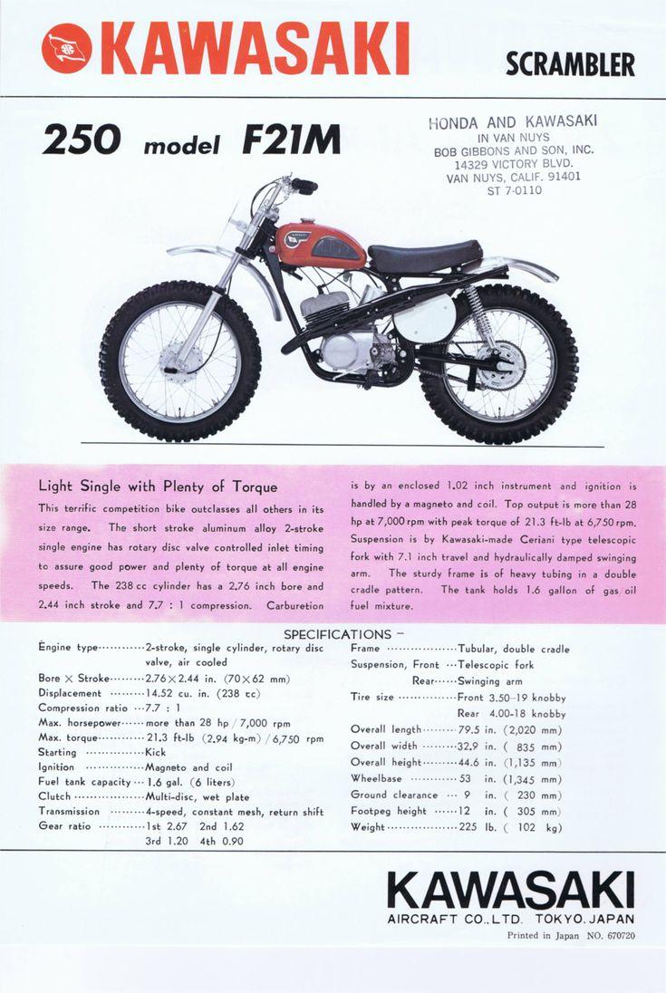 1969_Kawasaki 250 A1-R + 250 F21M 2-stroke.USA_02
