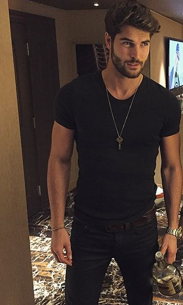 Nick Bateman - Inspiration for Hunter in my new erotic romance novel.