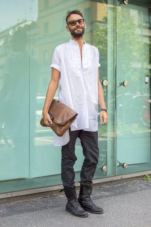 丈長シャツ : メンズ「ロング丈シャツ」着こなしとおしゃれなコーディネート集 - NAVER まとめ