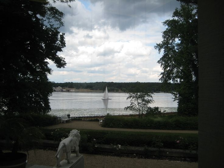 stunning view from the Haus am Wannsee