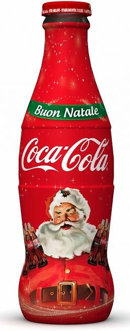 Christmas 2012 Limited Edition. Santa Claus, created by illustrator H. Sundblom, returns to be the image of the limited edition bottles of Coca-Cola.the new series of Coca-Cola Christmas bottles in 25 cl glass version  and in  500 ml Plastic bottle.CHECK OUT ALL OUR COKE BOARDS AND FOLLOW OUR OTHER BOARDS COCA COLA ADS COCA COLA BOTTLES COCA COLA CANS COCA COLA EVERYTHING ELSE COCA COLA VEHICLES