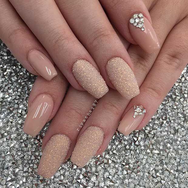 Pin By Dima Galova On Nails In 2020 Christmas Nails Tan Nails Coffin Nails Designs