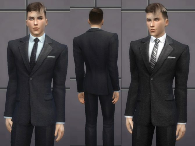 Male Outfit 02 at Tatyana Name via Sims 4 Updates