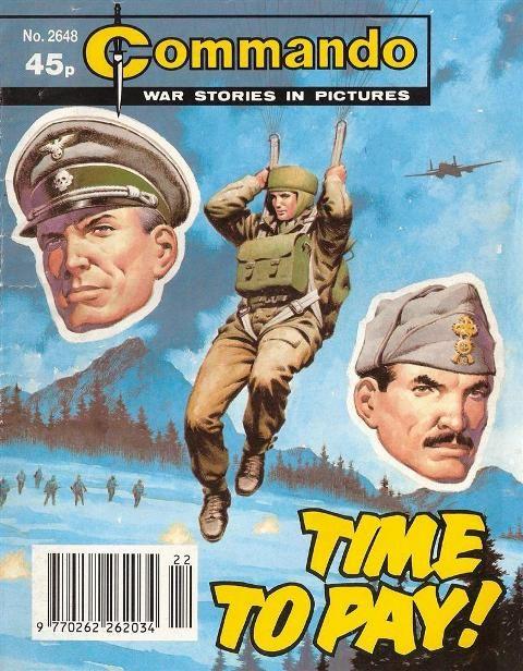 Commando No. 2648 'Time to Pay'
