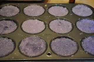 Homemade scented Epsom Salt bath tablets tutorial.