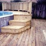 decks for above ground pools | Decks | Fences & Decks by T' Campbell