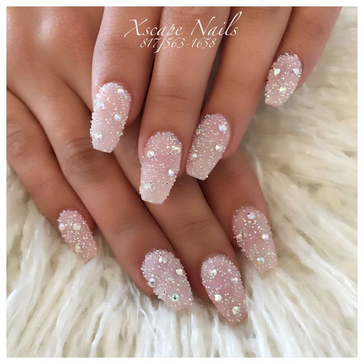 Crystal Pixie Nails In 2019 Nails Nail Designs Pixie Crystal Nails