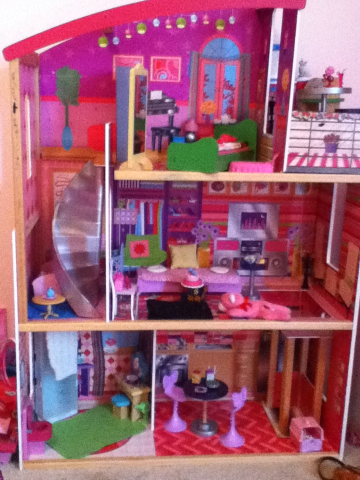 Biggest Barbie Doll House Ever Extras Pinterest