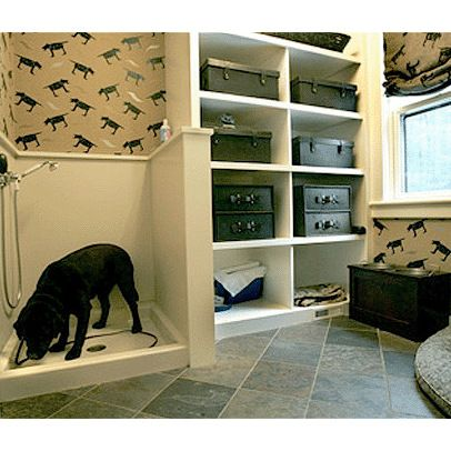 Dog Wash In The Laundry Room Or Garage
