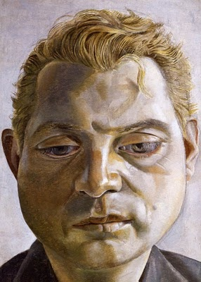 Francis Bacon by Lucien Freud