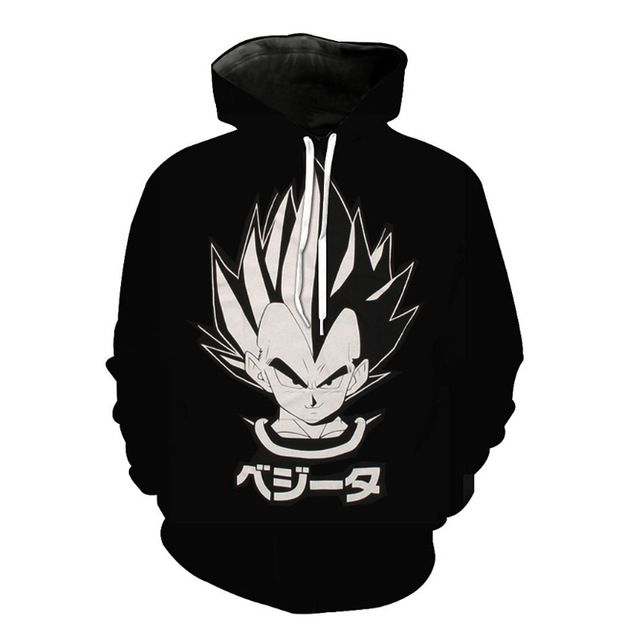 Anime Characters With Hoodies - Dragon Ball Z - Free Shipping Worldwide