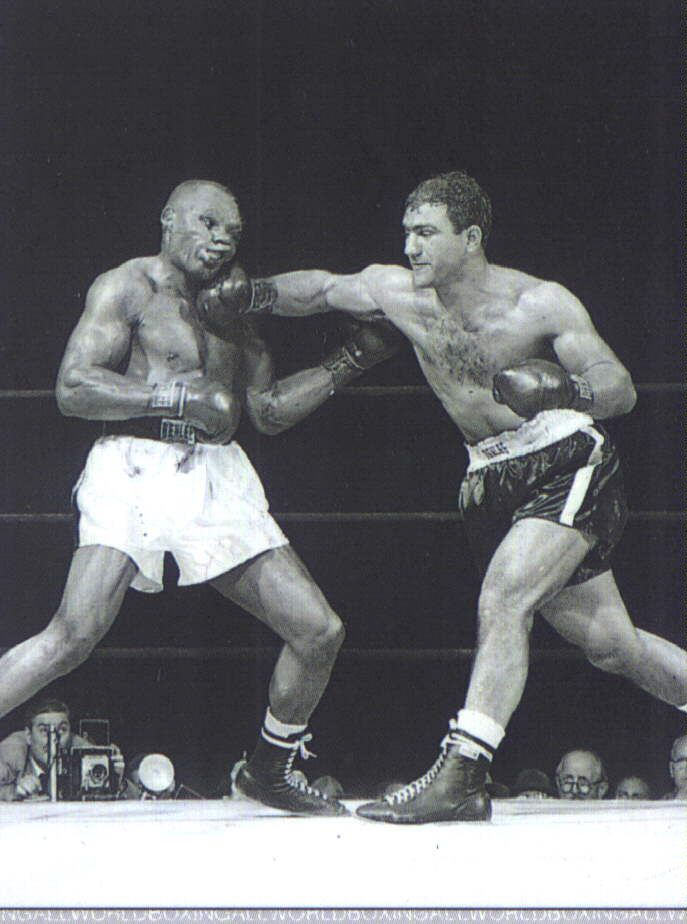 The Perfect Punch - Marciano KO's Walcott for the heavyweight title. Rocky Marciano, was an American boxer and the heavyweight champion of the world from September 23, 1952, to April 27, 1956. Marciano is the only champion to hold the heavyweight title and go undefeated throughout his career.
