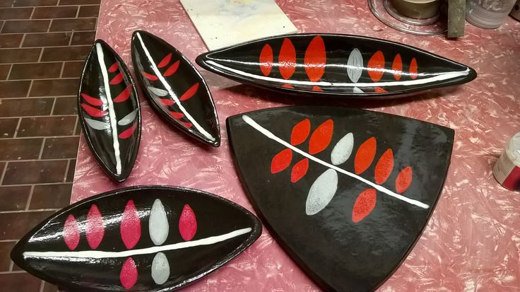 handmade serving dishes by jm art designs
