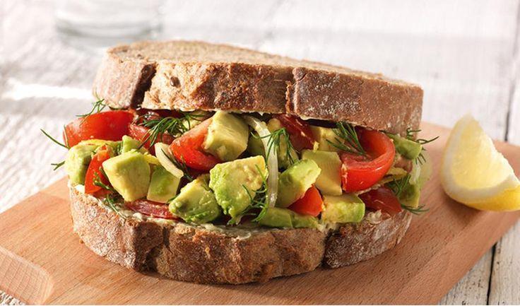 Overheerlijke avocadosandwich: go vegan!