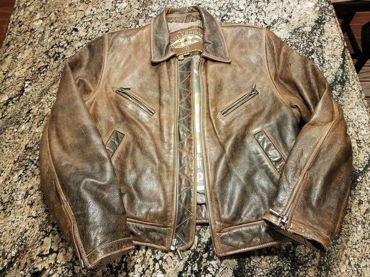 Colebrook & Co Vintage Bomber Jacket Women's Size Small Leather Coat Retro #Colebrook #Bomber