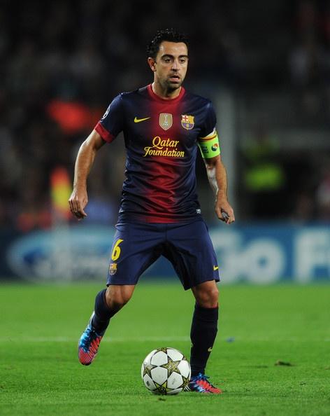 Xavi Hernandez Photo - FC Barcelona v Celtic FC - UEFA Champions League