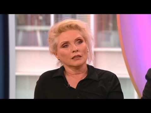 Debbie!  Harry & Chris Stein of Blondie on BBC The One Show 2013