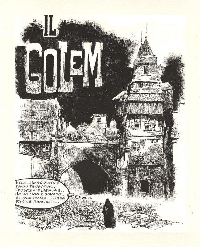 Golem by Dino Battaglia