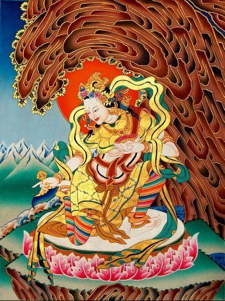 Yeshe Tsogyal, the great yogini, and mystic writer