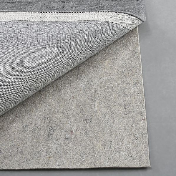 Multisurface 8'x10' Thick Rug Pad (felt on one side, non slip synthetic rubber on other) $139