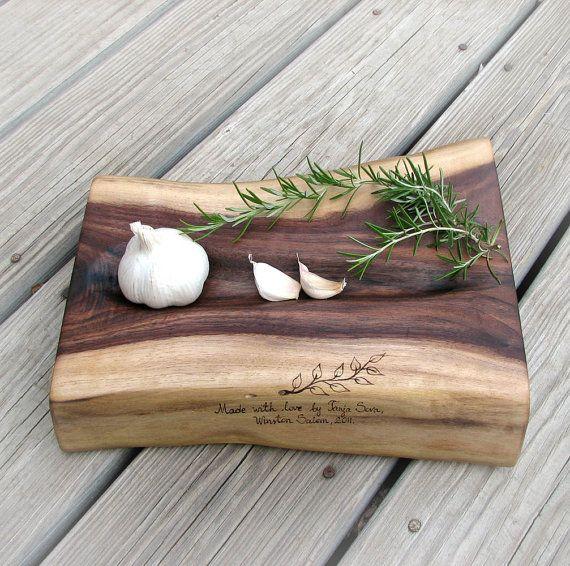 beautiful walnut cutting board