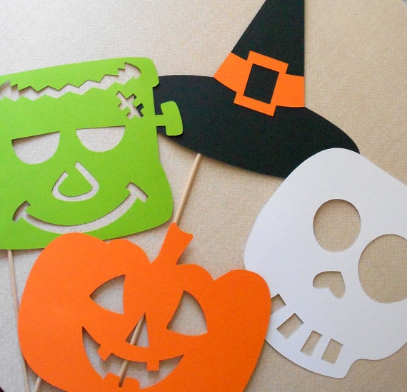 Halloween Photo Props  Halloween Photo Booth by ThePropMarket: