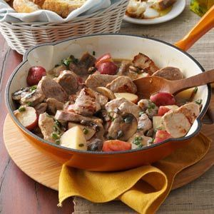Pork & Potato Supper Recipe. Made this for supper tonight with left over loin roast and it turned out fanstastic!