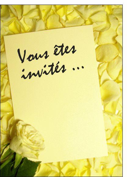 Carte Lettre invitation mariage pour envoyer par La Poste, sur Merci-Facteur !