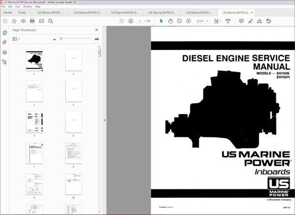 Hino Eh700 Diesel Engine Service Repair Workshop Manual Hino Diesel Engine Workshop
