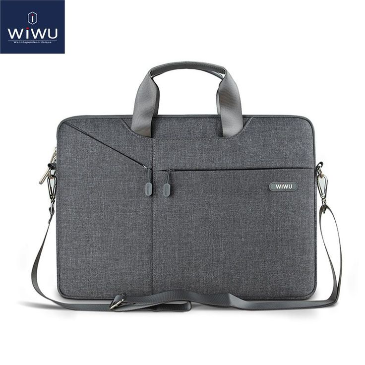 WiWU Newest Laptop Messenger Bag 11 12 13.3 14 15.4 15.6 Waterproof Nylon Notebook Bag for Dell 14 Laptop Bag for Macbook 13 Air //Price: $25.19// #electonics
