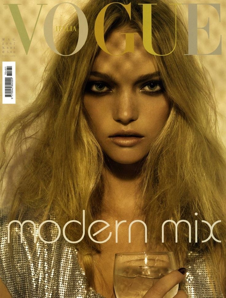 Gemma Ward for Vogue Italia, May 2007