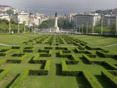 Eduardo VII Park Gardens, Lisbon, Portugal