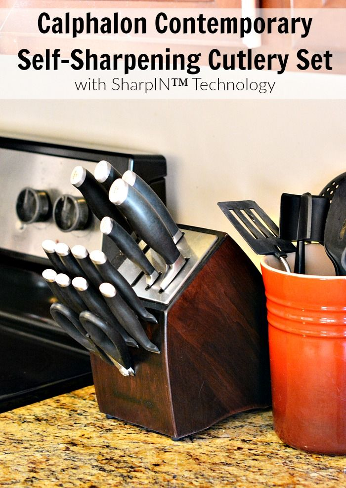 calphalon knives set