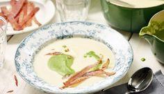 Würzige Schalotten, cremige Schlagsahne, frische Petersilie und herzhafte Schinkenstreifen brauchst du für die außergewöhnliche Petersilienwurzel-Cremesuppe – probiere es aus!