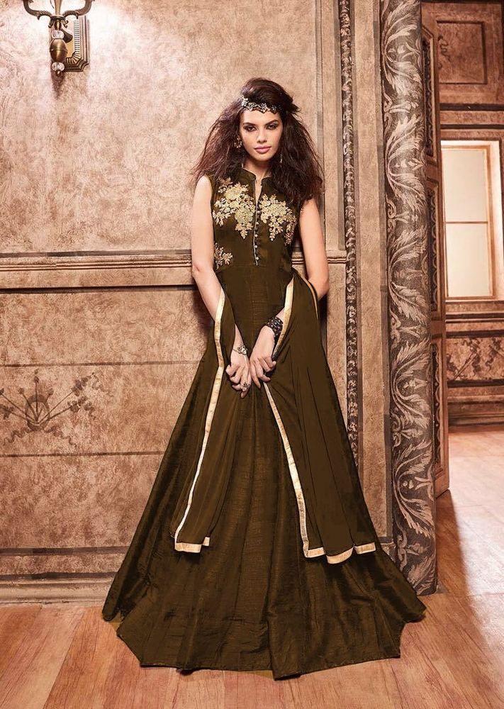 Anarkali Indian Pakistani Designer Bollywood Salwar Kameez Dress K MSKN 06. #FashionBazar01 #PartyWear #PARTYWEARWEDDINGFESTIVAL