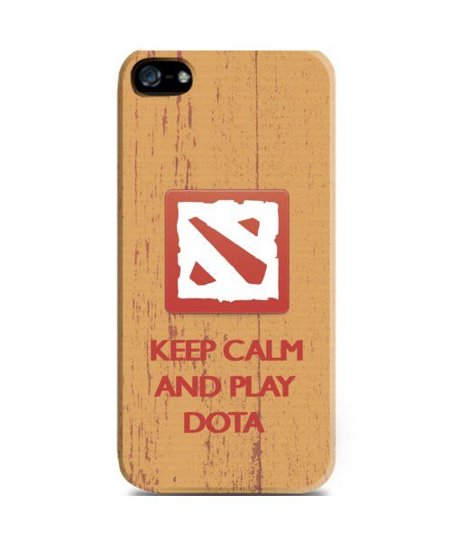 Keep calm and play dota iPhone 5 Case by Dota 2 shop center. Brown case with dota print, this Dota case made of a good material, and it will protect your phone from scratch, also available for iPhone 4/4S, 5S, 5C, Samsung Galaxy S3, S4, S5, Samsung Galaxy Note 2, 3, Samsung Galaxy Grand and Redmi Xiaomi. http://www.zocko.com/z/JIOua