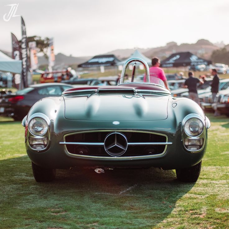 Because Racecar: 1957 Mercedes- Benz 300SLS [OC] [32643264] via Classy Bro