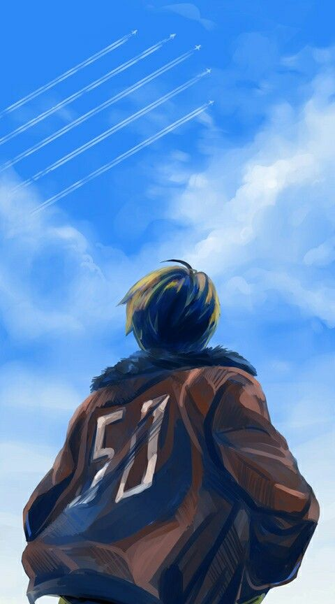 I just noticed that the number 50 is on the back of America's bomber jacket as in 50 states.