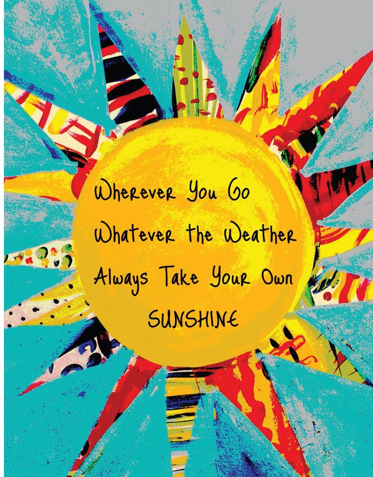 Take Your Sunshine with You Canvas